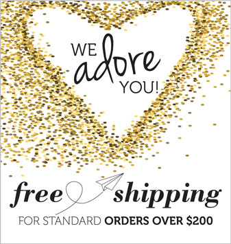 Free Shipping on Standard Orders Over $200